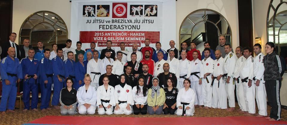 Ju Jitsu Gelişim Seminerine Katıldık.