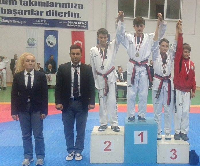 Taekwondo da Madalya Aldık