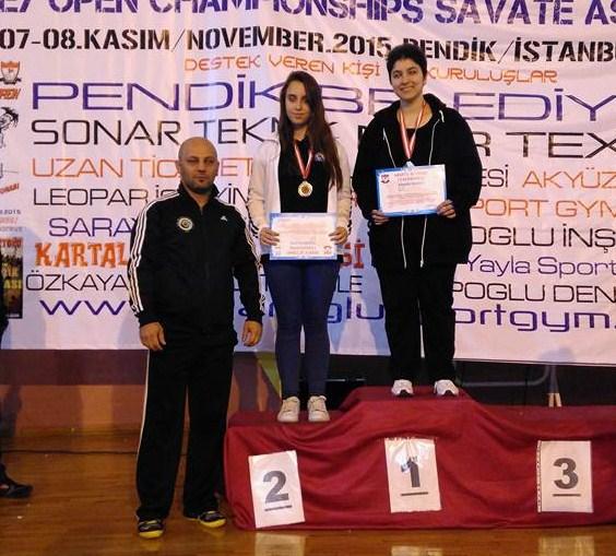 SAVATE Türkiye Şampiyonasında 2 ALTIN MADALYA