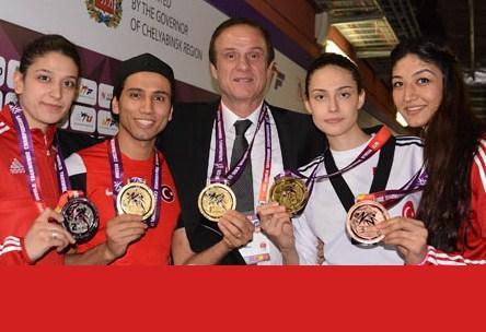 Dünya Şampiyonasında 4 Madalya