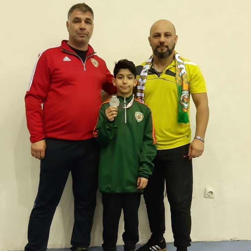 Taekwondo Şampiyonasında Madalya Aldık.
